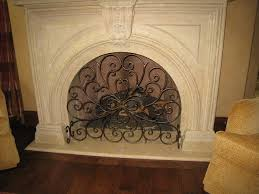 fireplace screens dallas iron firescreens