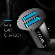 Totu Design China Totu Design Smart Mini Dual Usb Ports Fast Car Charger