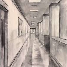hallway vanishing point. hallway vanishing point