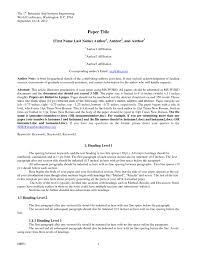 Apa Format Essay Sample Apa Format 24th Edition Essay Sample Granitestateartsmarket 20