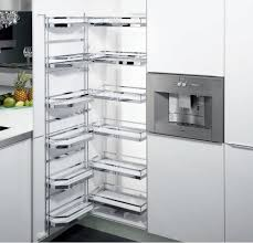 pull out tandem pantry wire basket 500mm module 1700mm h