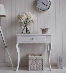 white hallway console table. Console Table Design, Small White Furniture Natural Hall And For Hallway With The Unique Appopriate