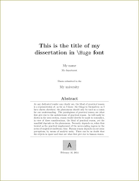 Covers Creating A Title Page For Maths Dissertation Tex Latex