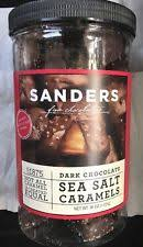 item 1 sanders dark chocolate sea salt caramels 36 oz free expedited shipping sanders dark chocolate sea salt caramels 36 oz free expedited shipping