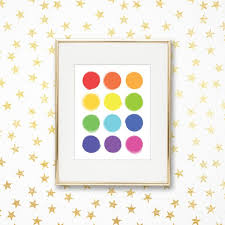 But there is a foolproof process that ensures the color you achieve on the very bottom color will give you the best idea of the undertone and color family. Color Swatches Bright Rainbow Playroom Art Print Printable Homeschool Poster Teacher Classroom Wall Decor Nursery Braplay By Prim Popping Catch My Party