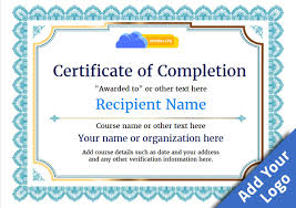 Certificate Of Completion Templates Blank Certificates Of Completion Major Magdalene Project Org