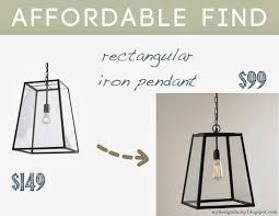 eldridge pendant small 149 four sided glass hanging pendant