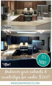 Paint Kitchen Countertops To Look Like Granite