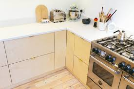 Birch Faced Plywood Kitchen Using Ikea Base Units And Plykea Doors