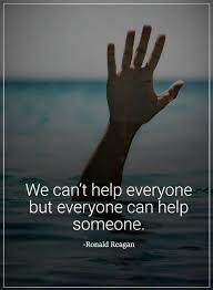 Helping Others Quotes Simple Helping Others Quotes We Can't Help Everyone But Everyone