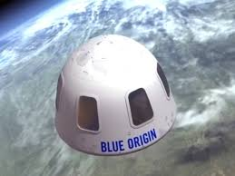 Blue origin believes in a future where millions of people are living and working in space. Sold Bidder Pays 28m For Spare Seat On Space Flight With Jeff Bezos Space The Guardian