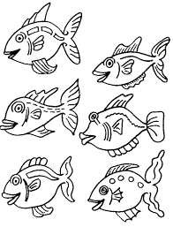 Small Picture Coloring Pages About Fish Coloring Pages