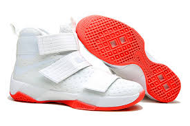 lebron red shoes. cheap nike lebron soldier 10 white fire red shoes lebron t