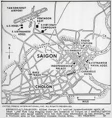 vietnam war maps vietnam war saigon during tet offensive 1968