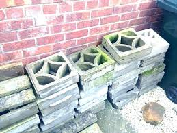painting cinder blocks for garden cinder block wall ideas painting block wall decorative block wall decorating