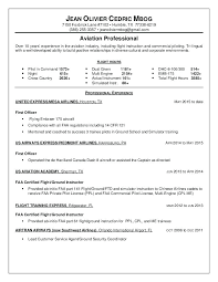 Ppl Pilot Cv A Good Resume Example