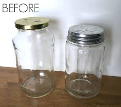 diy upcycled glass jars so easy and cute by girl in the garage