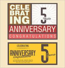 Vector Wedding Anniversary Card Free Vector Download 13 647 Free