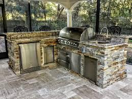 Granite For Outdoor Kitchen Gallery Creative Outdoor Kitchens