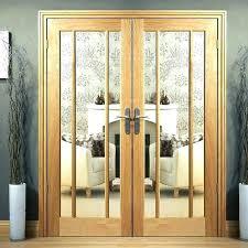 glass panel interior door interior door with glass panel interior doors with glass oak door pair
