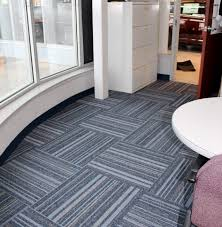 commercial carpet tile installation in woodhaven