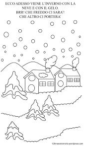 Libretto Sulla Stagione Invernale Da Colorare Disegni Sullinverno