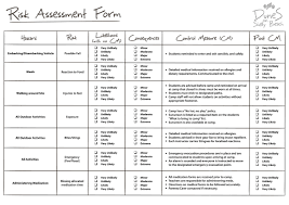 Risk Assessment Assessment Fire Risk Assessment Form Design Fire Risk Assessment Form 13