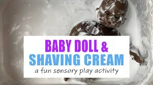<b>Baby</b> Dolls <b>and</b> Shaving Cream Sensory Play - <b>HAPPY</b> TODDLER ...