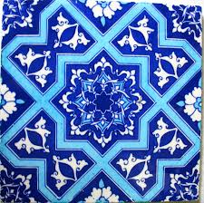 Moroccan Style Kitchen Tiles How I Painted Moroccan Tiles On A Kitchen Shelf Style Search