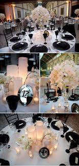 elegant black and white wedding elegant black and white wedding decor ashley garmon photographers