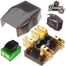 ebay co uk Mini Cooper Fuse Box Diagram image is loading lucas 54038068 4fj 2 way fuse box glass