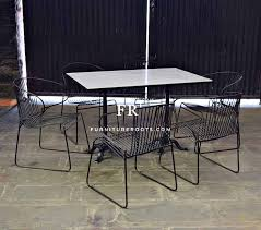 purpose built marble table hospitality outdoor furniture furnitureroots