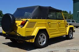 volkswagen thing yellow. 1973 volkswagen thing yellow