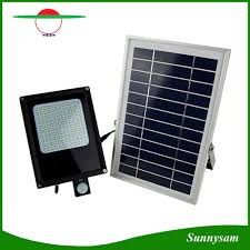 Solar Powered Flood Lights Outdoor Hot Item 120led Pir Sensor Outdoor Garden Lamp Solar Powered Flood Light