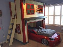 cool diy kids beds. Perfect Kids Garage Loft Bed DIY To Cool Diy Kids Beds