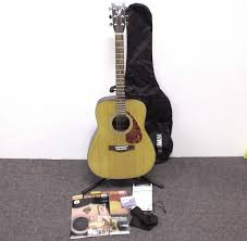 yamaha f325. yamaha f325 folk acoustic 6-string natural guitar w/soft case accessories | ebay k