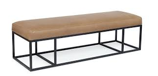 tan leather bench tan leather bench cushion tan leather ottoman bench