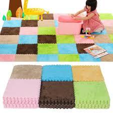 9pcs soft floor covering eva foam puzzle floor mats tile play mat gym baby kids