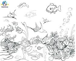Seahorse Colouring Pages Print Sea Coloring Pages Fish Under The Sea
