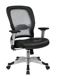 stylish fabulous adjule lumbar support office chair with back in mesh for plan