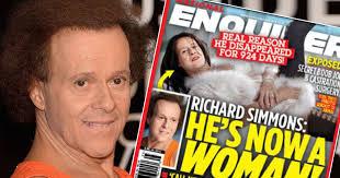 richard simmons woman. richard simmons \u0027living as a woman\u0027: fitness guru \u0027has had breast surgery and hormone therapy\u0027 - mirror online woman daily