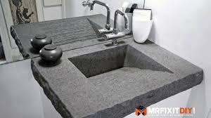 diy concrete bathroom countertops awesome 50 best diy bathroom sink pics makeup vanity ideas
