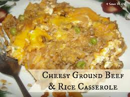 ground beef and rice recipes. Brilliant Beef 4 Sons U0027Ru0027 Us Cheesy Ground Beef U0026 Rice Casserole With And Recipes O
