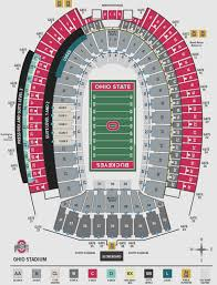 Qualcomm Interactive Seating Chart Proper Ohio State Interactive Seating Chart Osu Stadium