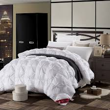 3d design white pink color natural 90% duck down comforter 500FP ... & 3d design white pink color natural 90% duck down comforter 500FP light warm  queen king size quilt High quality Grade A bedhome-in Comforters & Duvets  from ... Adamdwight.com