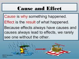 cause and effect powerpoint cause and effect