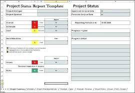 Project Status Sheet Project Status Sheet Template Project Progress