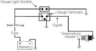 wiring diagram vdo oil temp gauge wiring diagram gauge\u201a vdo wire gauge table at Wire Gauge Diagram