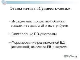 Презентация на тему Дипломный проект на тему Разработка  4 Этапы