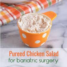 pureed en salad for bariatric